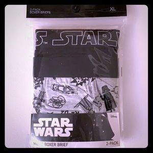 Star Wars Men's Boxer Briefs XL BNWT